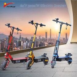 Skuter elektryczny 5000W Patinete Electrico Adulto E skuter elektryczny rower bateria litowa Samsung Hulajnoga Elektryczna Escooter 1