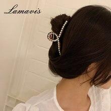 Корейская девушка заколка для волос женская элегантный простой