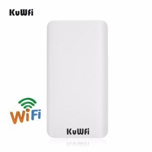 Image 2 - KuWFi 300 mb/s 2 szt. 1 3KM zewnętrzny Router CPE 5G bezprzewodowy punkt dostępu Router mostek Wi fi Wi fi Extender CPE Router z 24V POE