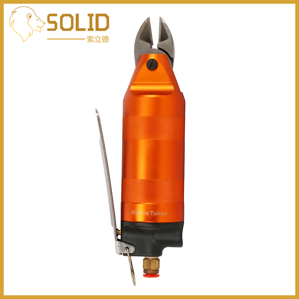 Pneumatic Nippers Air Scissors Nippers Tool Angle Blade Air Cutter Cut Off Electronic Components Pin Iron Copper Wire 1Pc