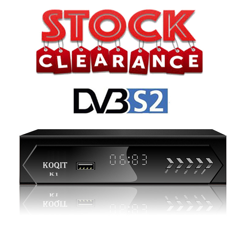 DVB-S2 Digital TV Box Receptor Iptv M3u Scam /Biss/vu Decoder Free Tv Satellite Receiver Satellite DVBS2 TV Tuner Diseqc Youtube
