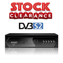 DVB-S2 Digitale Tv Box Receptor Iptv M3u Scam /Biss/Vu Decoder Gratis Tv Satellietontvanger Satelliet DVBS2 Tv tuner Diseqc Youtube(China)