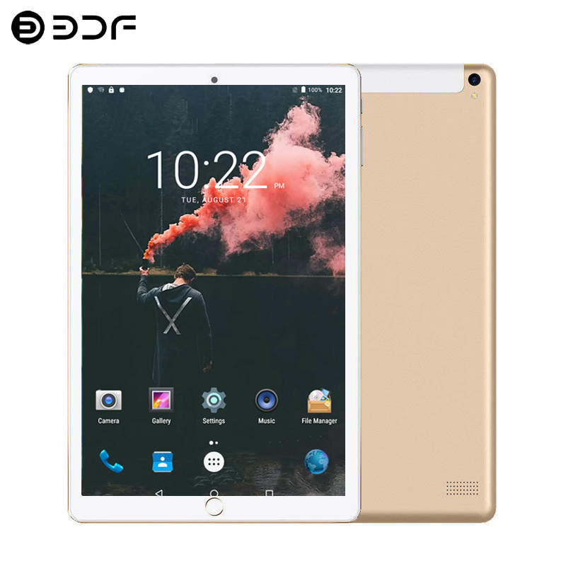New System 10.1 Inch Tablet 3G/4G Phone Call Android 7.0 Quad Core 2GB/32GB Dual SIM 1.3GHz Support Wi-Fi Bluetooth Tablet PC