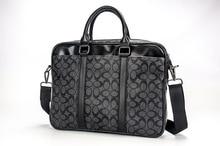 Classic Pattern American Style Business Briefcase Paisleys Laptop Bag Mochila