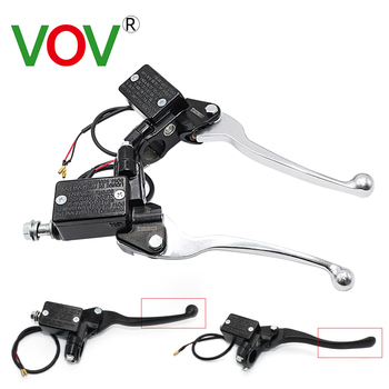 fx 7 8 50 550cc dirt pit bike motocross brake clutch lever master cylinder reservoir for aprilia rs50 1999 2005 aprilia rs125 Motorcycle Dirt Pit Bike Front Master Cylinder Hydraulic Brake Lever Right For Scooter Front Brake Pumps Lever