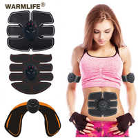 EMS Muscle Stimulation Trainer Wireless Electric Smart Fitness Abdominal Training Weight Loss Stickers No Retail Box