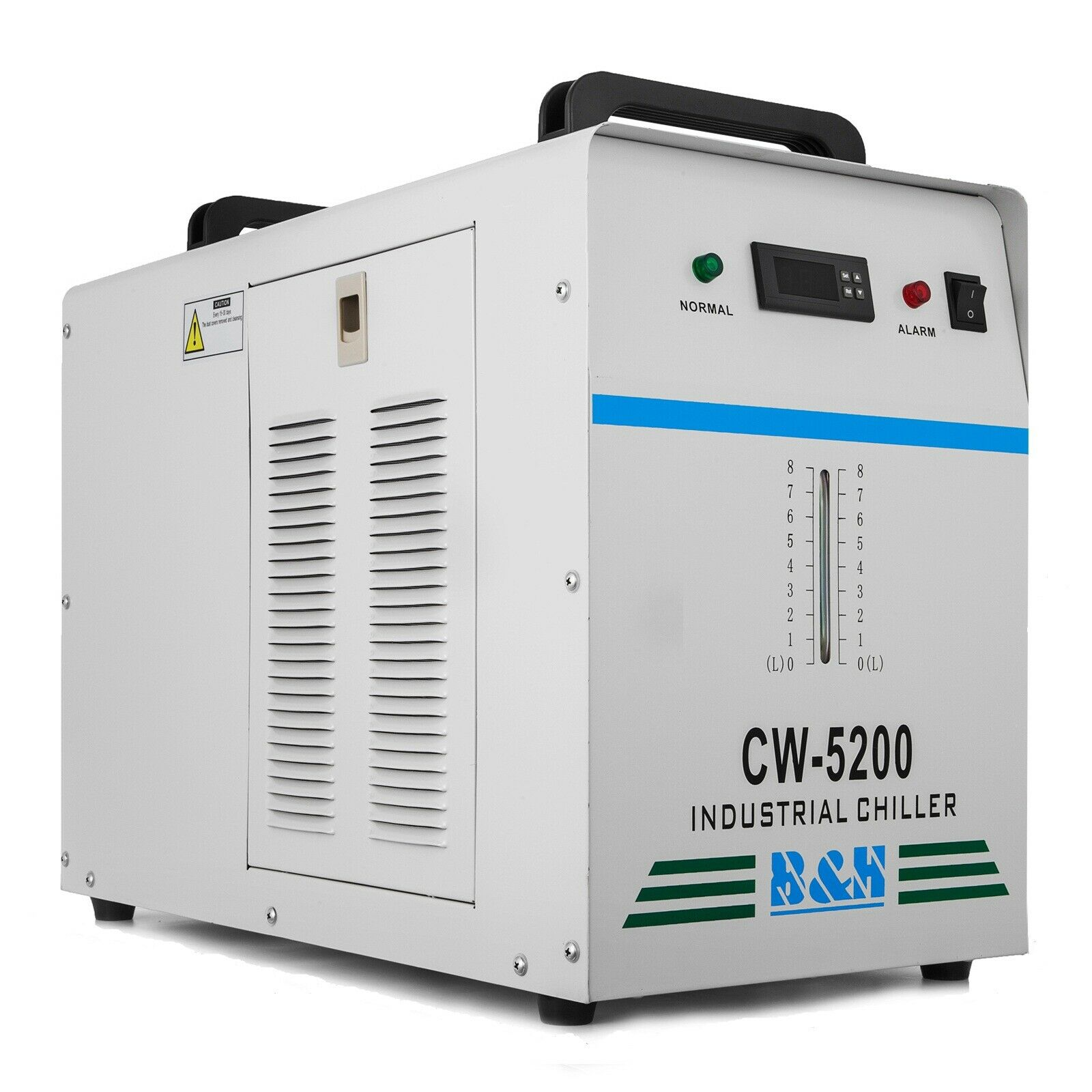 CW-5200DG Industrial Water Chiller For Single 130/150W CO2 Laser Tube