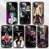 Phone Case For iPhone 11 13 12 Pro Max XS XR X 8 7 6s 6 Plus 5 5S SE Black Bumper Soft Silicone Fundas Death Note