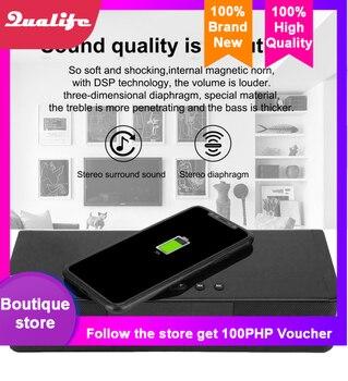 Rsionch 3in110W Bluetooth Speaker Portable Wireless Loudspeakers Wireless Fast Charging Bluetooth Speaker/FM Radio Alarm Clock