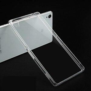 Image 4 - Housse de téléphone arrière en polyuréthane souple Transparent Ultra mince pour Sony Xperia XZ X XA Z2 XA1 XZ1 Z5 Z3 Plus compacte Premium
