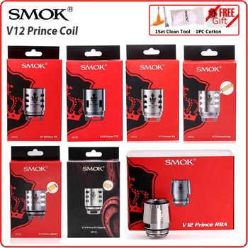 SMOK-cewka oryginalny TFV12 Prince RBA Q4 M4 T10 siatka Strip e-papieros odporność rdzeń szkło do V12 Prince Atomizer x-priv Vape tanie i dobre opinie CN (pochodzenie) SMOK TFV12 PRINCE Coils for TFV12Prince Vaporizador Atomizer Mag XPRIV Vaping Vapor Podwójny DS 0 4ohm (40W-100W Best 60-80W)