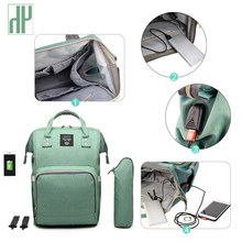 Get more info on the USB Mummy Maternity Nappy Bag Brand Large Capacity Baby Bag Travel Backpack Designer Nursing Bag for Baby Care