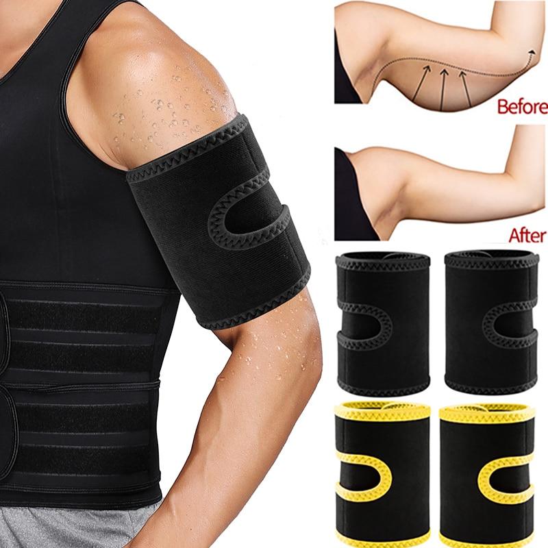 Cinturón adelgazante de Suana para hombre, moldeador de brazo con efecto adelgazante, bandas para sudor, moldeador de cuerpo para quemar grasa