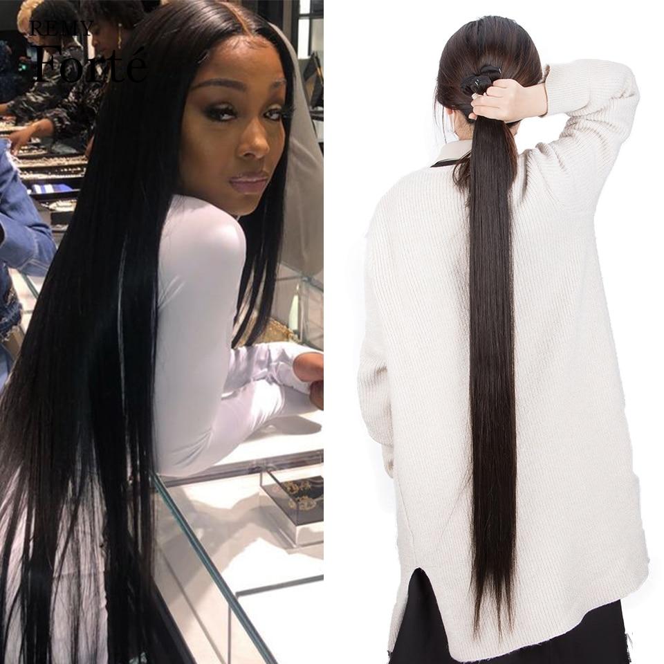 30 Inch Human Hair Bundles Brazilian Bone Straight Hair Extensions Wholesale 40 Inch X Real Hair Vendors 3 Bundles Non Remy