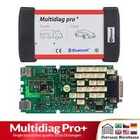 CDP TCS Pro tek kurulu Bluetooth 2016 Keygen yazılımı Multidiag Pro OBD II tarayıcı arabalar için otomatik teşhis aracı