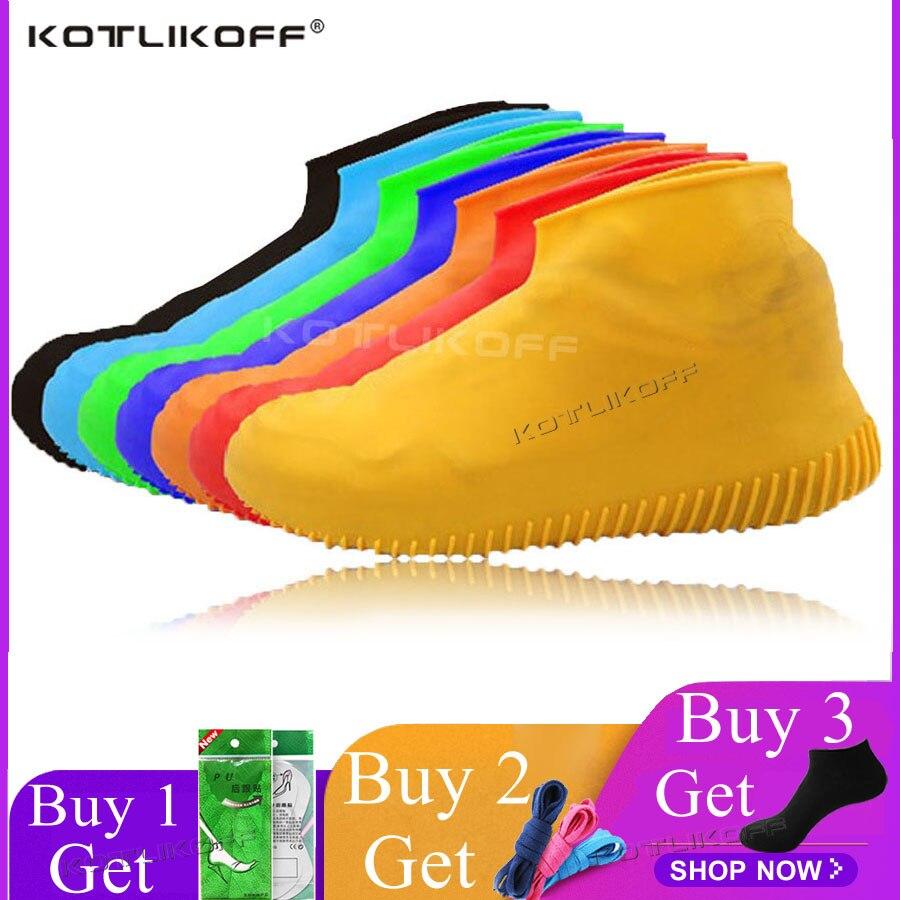 Homens Sapatos À Prova de Chuva Cobre Botas de Chuva Galochas de silicone À Prova D' Água Reutilizável Não-deslizamento Lavável Unisex Desgaste-Resistente Reciclável