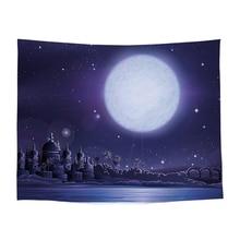цена на 1PC Printed Blanket Plain Dyed Tapestry Wall Hanging 100% Polyestergothic Decor Home Bohemian Beach Throw Carpet