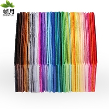 Manufacturers 4,000 Copies Felt Fabric Non Woven Fabric,1mm Thickness,Polyester Felt Of Home Decoration For Sewing Dolls Crafts