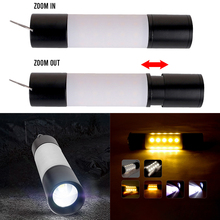 Portable Waterproof LED Flashlight with USB Rechargeable for Hunting Camping Aluminum Alloy Outdoor Emergency Electric Torch