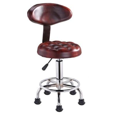 Bar Chair Modern Simple Bar Stool High Stool Chair Backrest Bar Furniture Economics Type Simplicity Originality