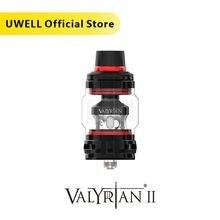 Резервуар UWELL Valyrian II 2 мл, технология самоочистки, дизайнерский откидной колпачок, электронная сигарета, вейп, бак Sub Ohm