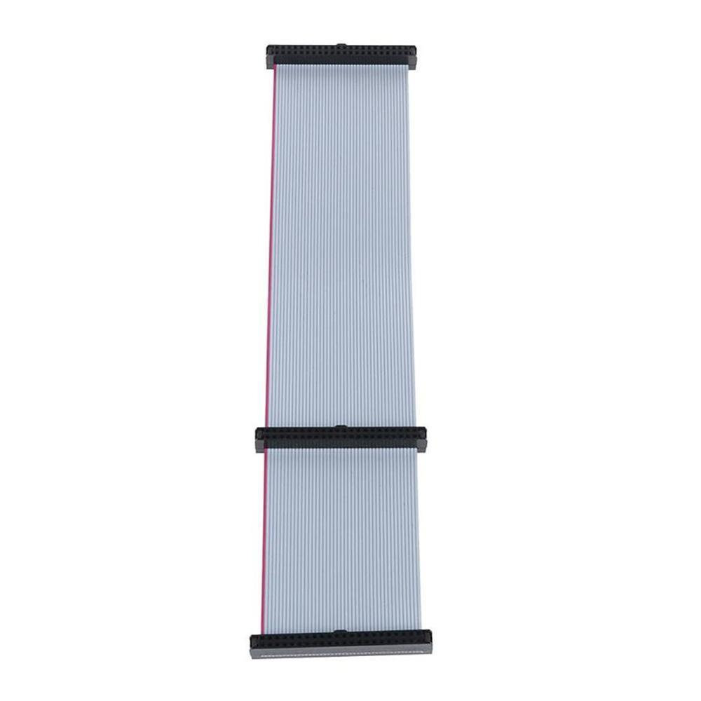 0.2M IDE Hard Drive Ribbon Cable 44 Pin IDE Female To Female F/F Extension Data Ribbon Cable Line Dual Device Brand New
