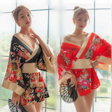 Sexy Erotic Female Passion Pajamas Japanese Kimono Uniform Temptation Sexy Lingerie for Women Lingerie Erotic Cosplay Clothes