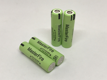 Wholesale MasterFire Original NCR18650BM 3.7V 3200mAh 18650 Rechargeable Battery Lithium Batteries Cell high drain 10A Discharge