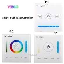 MiBOXER P1/P2/P3 스마트 패널 컨트롤러 디밍 Led 조 광 기 RGB/RGBW/RGB + CCT 색 온도 CCT Led 패널/스트립 빛