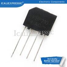 10 peças ponte retificador 1000v 2a dip kbp210 kbp210g em estoque