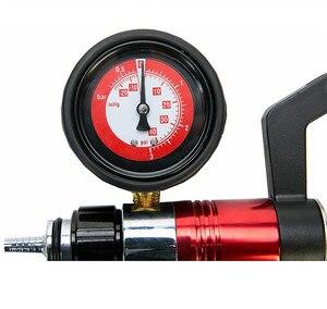 Image 5 - Auto narzędzie diagnostyczne samochód Auto ręczny pistolet próżniowy pompa hamulca odpowietrznik adapter zbiornik płynu Tester oleju zestaw narzędzi