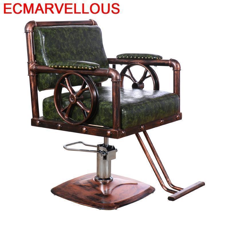 Schoonheidssalon Mueble Stoelen Kappersstoelen Barbeiro Hair Sedie De Belleza Sedia Cadeira Salon Barbearia Silla Barber Chair
