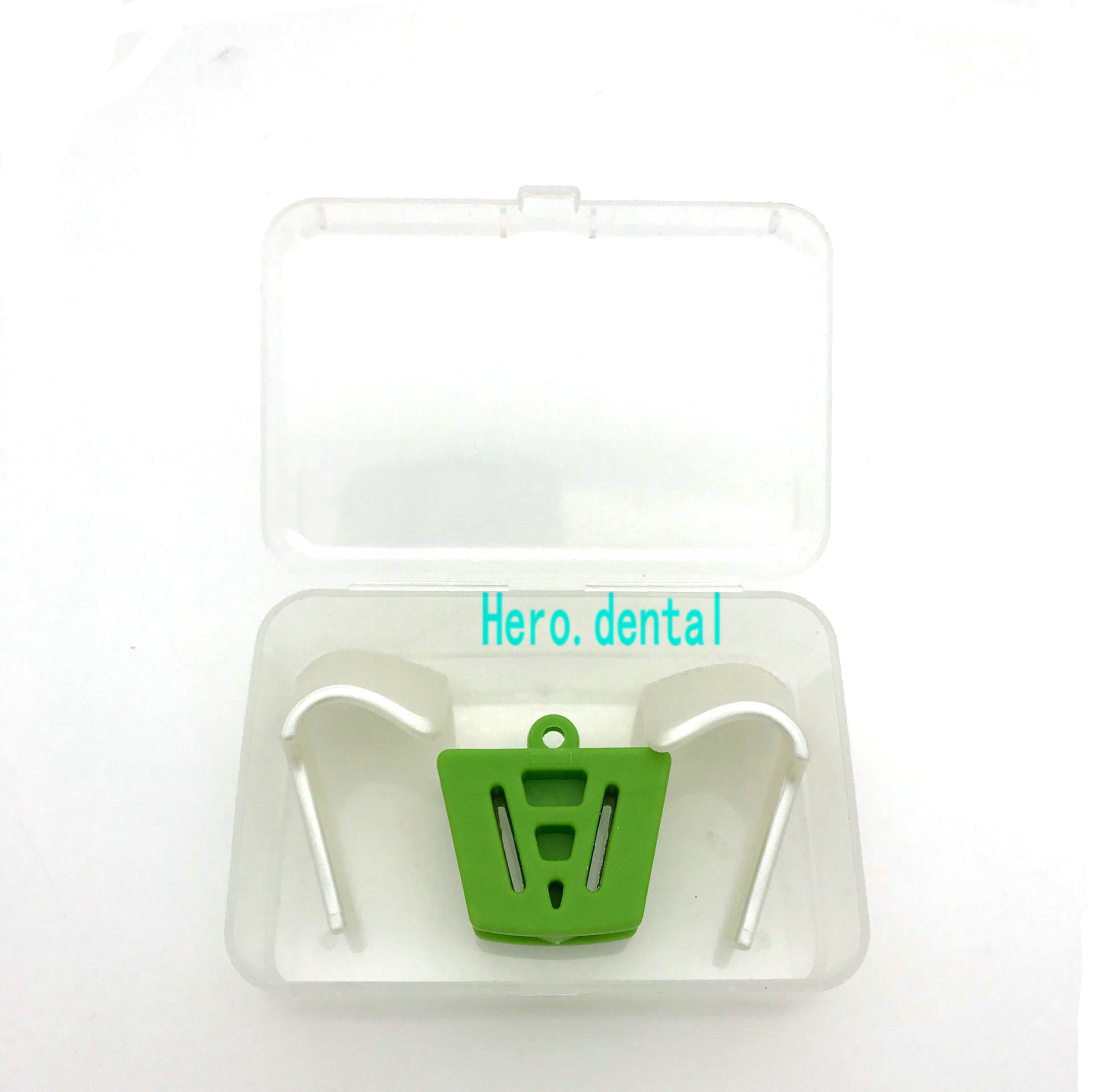 Dental Silicone Mouth Prop Latex Bite Block With Tongue Guard