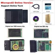 V17.04.27 MicroPod2 Micro Pod2 Với Phần Mềm Cho Chry Sler Je Ep Dod Địa Fi    Một T Micro Pod Siêu Nhỏ 2 Hỗ Trợ Trực Tuyến Lập Trình