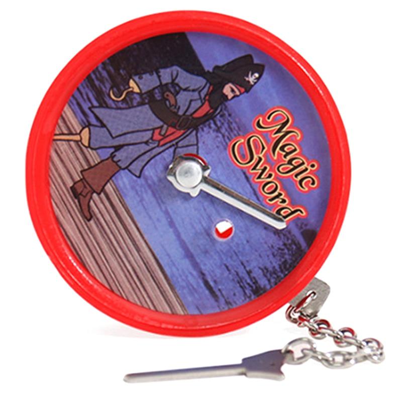 1 pçs magia espada truques de magia estágio close up magia diversão ilusão psicológica manequim adereços aparecem desaparecendo brinquedos|Truques de mágica|   -