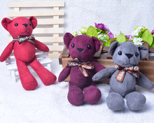 цена на Teddy bear bag accessories teddy bear mobile phone accessories accessories free shipping