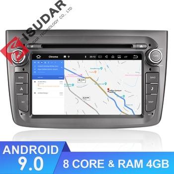 Isudar 1 Din Auto Radio Android 9 For Alfa Romeo Mito 2008- Octa Core RAM 4G ROM 64G Car Multimedia Video DVD Player GPS USB DVR