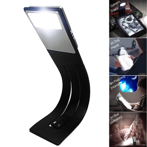 Image 3 - Usb led reading book light detachable flexible clip USB charging light for Kindle e book reader   WWO66