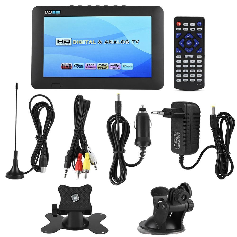 LEADSTAR 7inch DVB-T2 High Sensitivity Car Digital TV Stereo Surrounding 1080P Car Televisions 2019 new style