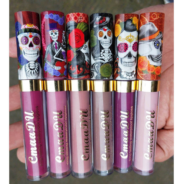 Cmaadu 6 Color Velvet Matte Liquid Lipstick Waterproof Long Wear Lip Gloss Makeup Nude Rouge Tattoo Lips Tint Women Cosmetic 2