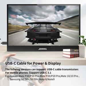 4K портативный монитор 15,6 дюймов 3840X2160 IPS ЖК-монитор HDMI DP type-C для ПК ноутбука телефона PS4 переключатель XBOX 1080P игровой монитор