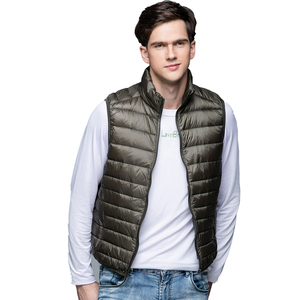 Image 5 - Spring Man Duck Down Vest Ultra Light Jackets Men Fashion Sleeveless Outerwear Coat Autumn Winter Coat 90% White Duck Down