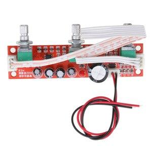 Image 4 - 2 Pieces NE5532 Preamp Pre amplifier Tone Board Kit Treble Bass Volume Control Module
