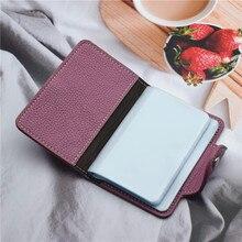 WESTERN AUSPICIOUS wizytownik na karty biznesowe PU skóra funkcja 24 etui na karty kobiety mężczyźni Credit paszport torba na karty ID portfel na karty
