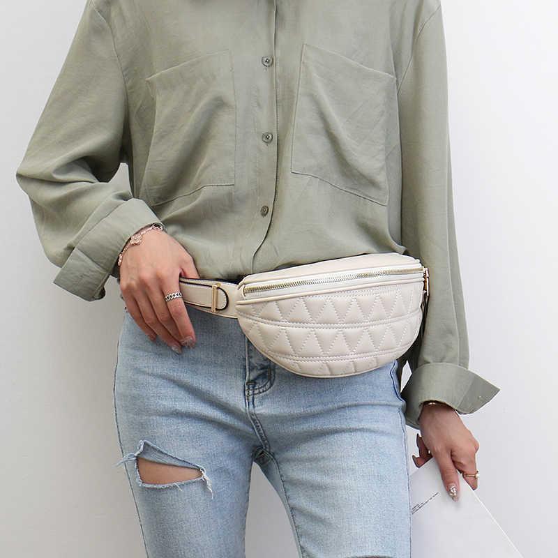 Винтажные Поясные Сумки из искусственной кожи для женщин, маленькие летние модные дамские кошельки для телефона, нагрудные мини-сумки