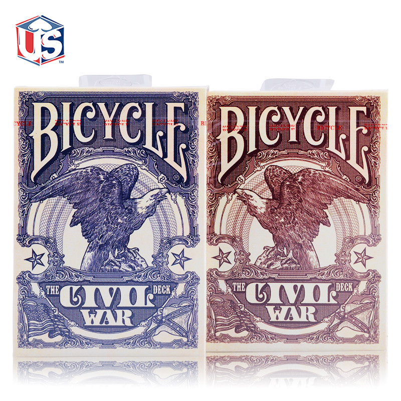 America Import Civil War Bicycle Brand Bicycle Playing Cards