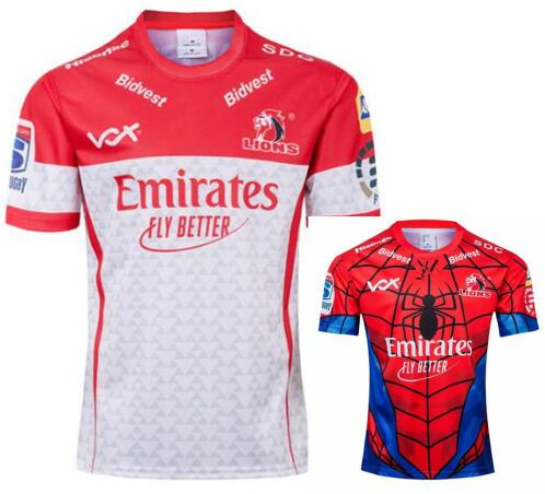2019 Lions Super Rugby Jerseys Spider