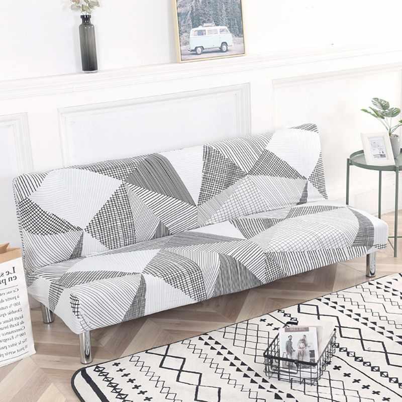 Универсальный чехол для дивана, эластичный чехол для дивана, чехол для дивана без подлокотника, складной чехол для дивана-кровати, 1 шт.