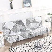 Uniwersalna narzuta na sofę Stretch duża elastyczność narzuta na sofę Sofa Funiture narzuta na sofę bez podłokietnika składana pokrywa na sofę 1pc