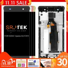 """100% testowane 5 """"dla SONY Xperia XA F3111 F3112 F3116 ekran dotykowy LCD Digitizer zgromadzenie części zamienne wyświetlacz XA"""